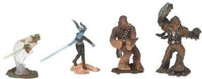 Hasbro Star Wars Unleashed Battle 4 Pack Yoda