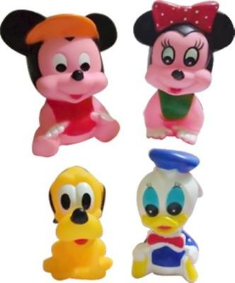 Khareedi 4 in 1 Disney Rubber Toys