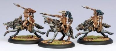 Privateer Press Hordes Circle Orboros Tharn Wolf Riders Unit Box Model Kit