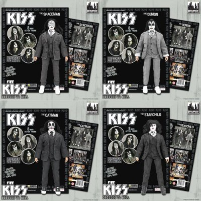 Figures Toy Company Kiss Series 5Dressed To Killdolls Set Of Four 8