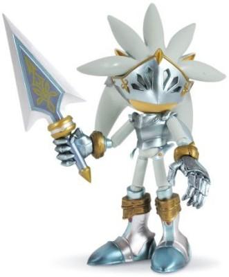 Jazwares Sonic And The Black Knight 5,, Sir Galahad (Silver)