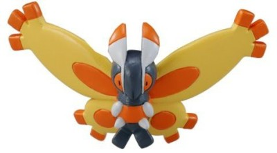 Takara Tomy Mothim (Mc65) Pokemon Monster Collection 2