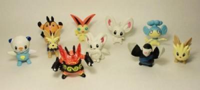 Pokemon Figure Lot of 10 Random 1-3 Inch Characters