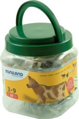 Miniland Farm Animals5 Jar