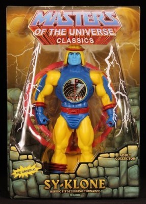 Masters of the Universe HeMan Classics Exclusive Action Figure SyKlone