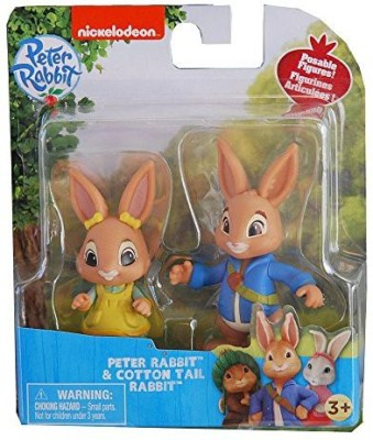 Nickelodeon Peter Rabbit Television Show Poseable Speter Rabbit