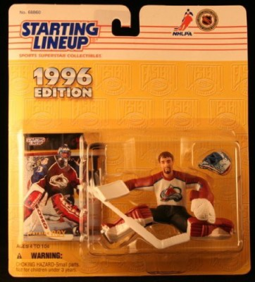 Starting Line Up Patrick Roy / Colorado Avalanche 1996 Nhl Starting Lineup