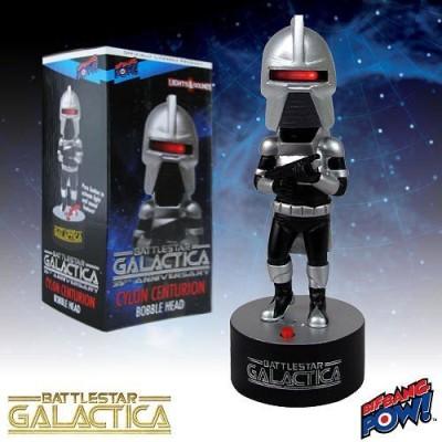 Bif Bang Pow! Battlestar Galactica Electronic Cylon Centurion Bobble Head