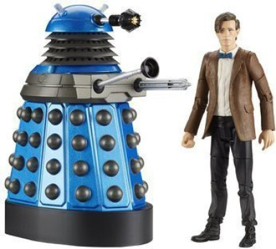 CO Doctor Who Twin Pack Eleventh Doctor And Dalek