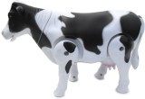 Adiestore Battery Operated Walking Cow T...