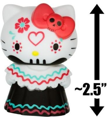 Hello Kitty Red Bow Calavera