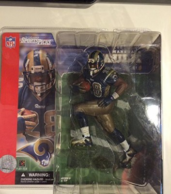 Marshall Faulk St Louis Rams Mcfarlane Sportspicks Nfl Series 2