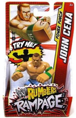 WWE Wrestling Rumblers Mini John Cena [Power Punch]