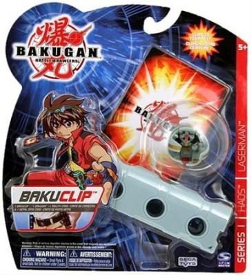 Spin Master Bakugan Battle Brawlers Bakuclip Series 1 Haos Laserman