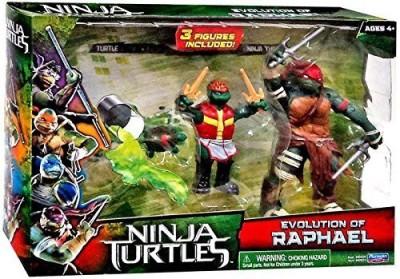 Ninja Turtles Teenage Mutant Movie Setevolution Of Raphael
