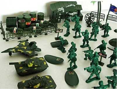 Snowhale Army Men Soldierbag Playset