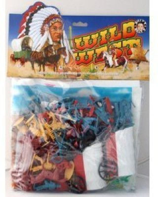Billy V Wild West Cowboys And Indians Playset 59 Piece Set Of 2