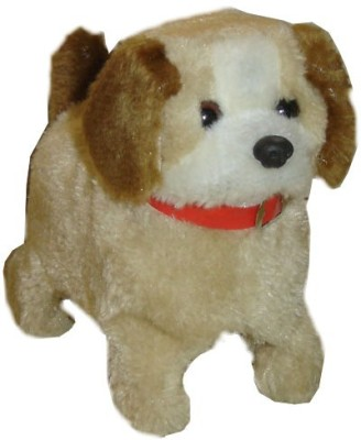 Lotus Fantastic Puppy Battery Operated Jumping Dog Run Jump Toy(Brown)