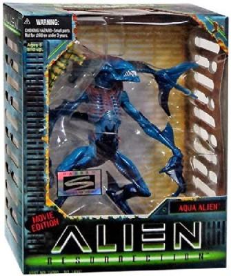 Alien Predator Movie Edition Alien Resurrection Aqua Alien