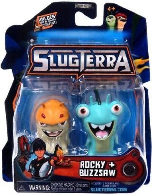 SLUGTERRA Mini 2Pack Rocky & Buzzsaw [Includes Code For