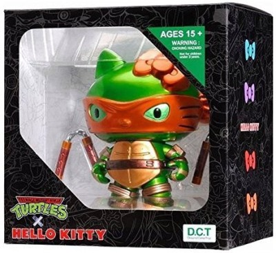 Hello Kitty Michelangelo Teenage Mutant Ninja Turtles Tmnt Vinyl