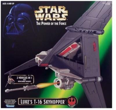Kenner Star Wars Power Of The Force Luke,S T16 Skyhopper Vehicle