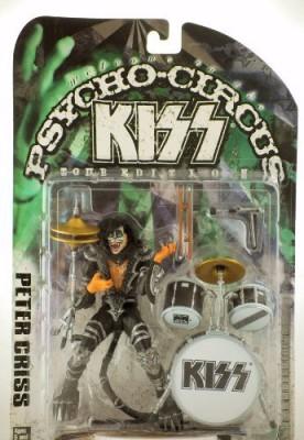 McFarlane Toys Kiss Psycho Circus Tour Edition Peter Criss