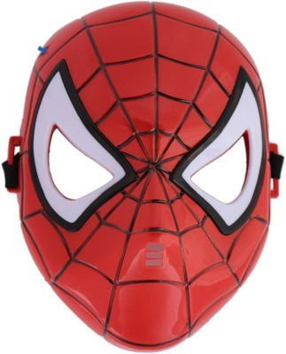 Gift World Spider Man Mask Lighting with LED