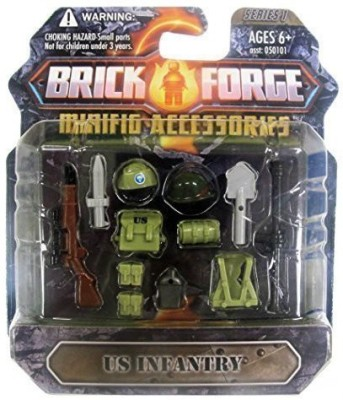 Brickforge ,Us Infantry, Minifig Accessory Pack