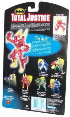 Total Justice Dc Comics Year 1996 Batman 5 Inch Tall The Flash