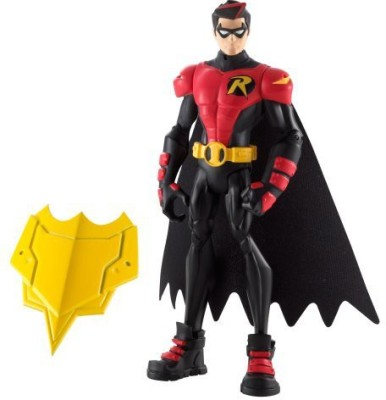 Mattel Batman Power Attack Lava Mission Battle Strike Shield Robin