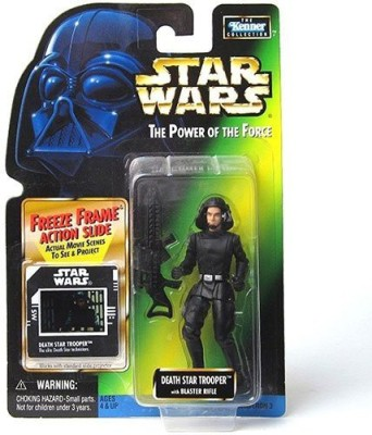 Star Wars The Power of the Force - Death Star Trooper with Blaster Rifle - Fr...