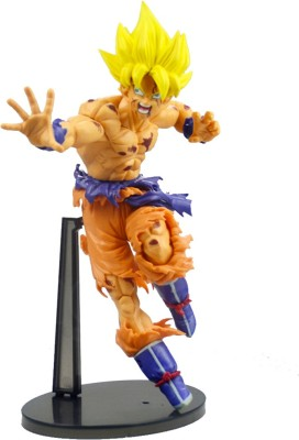 Anokhe Collections Super Saiyan Goku Fighting Battle 18 CM tall Collectible Actio Figure