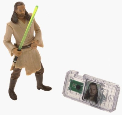 Star Wars Episode 1 Qui-Gon Jinn (Jedi Duel) Action Figure