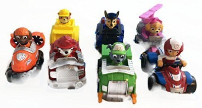 Spin Master Paw Patrol Racers Complete Set Of 7