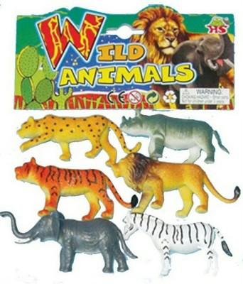 Rahul Toys 6 Pic Wild Animal