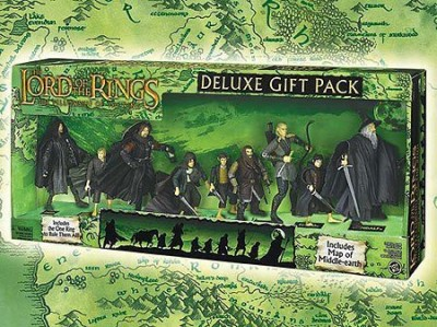The Lord Of The Rings Deluxe Gift Pack With 9And One Ring