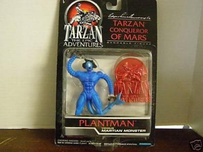 Trendmasters tarzanthe epic adventures tarzan conqueror of mars plantman