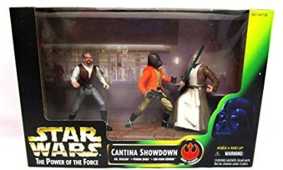 Star Wars Power Of The Force Cinema Scenes Cantina Showdown With Dr