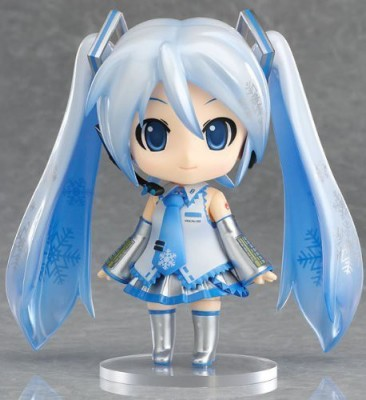 Miku Hatsune Vocaloid Snow Nendoroid [Wonder Festival 2010 Winter