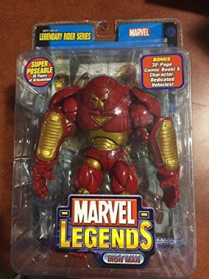 Toy Biz Marvel Legends Legendary Riders Iron Man Hulk Buster