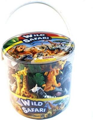PSE 38 Piece Wild Safari Playset In Bucket