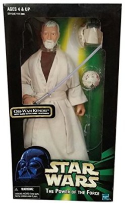 Star Wars The Power Of The Force Obiwan Kenobi 12(White)