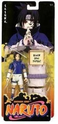 Naruto Mattel Shonen Jump Black Seal Jutsu Sasuke