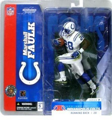 Toy Rocket Marshall Faulk Nfl Colts 7