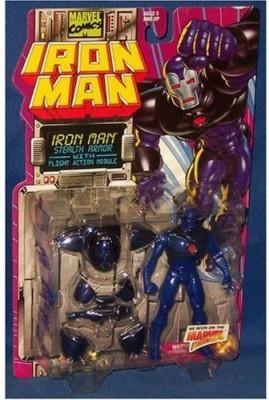 Iron Man Marvel Comics 1995 5 Inch Stealth Armor With Flight Module