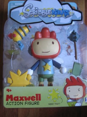 Jazwares Scribblenauts Maxwell And Accessories