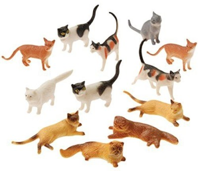 US Toy Mens Mini Cat Figurines Assorted