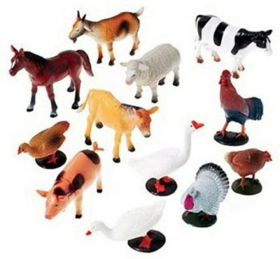 Rahul Toys Farm Animals For To Fight
