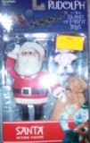 Santa Action Figure Rudolph And The Isla...